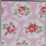 Wall Tiles in Cath Kidston Provence Rose in Pink 100mm 150mm